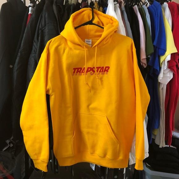 Other - Trapstar Hoodie - Mustard
